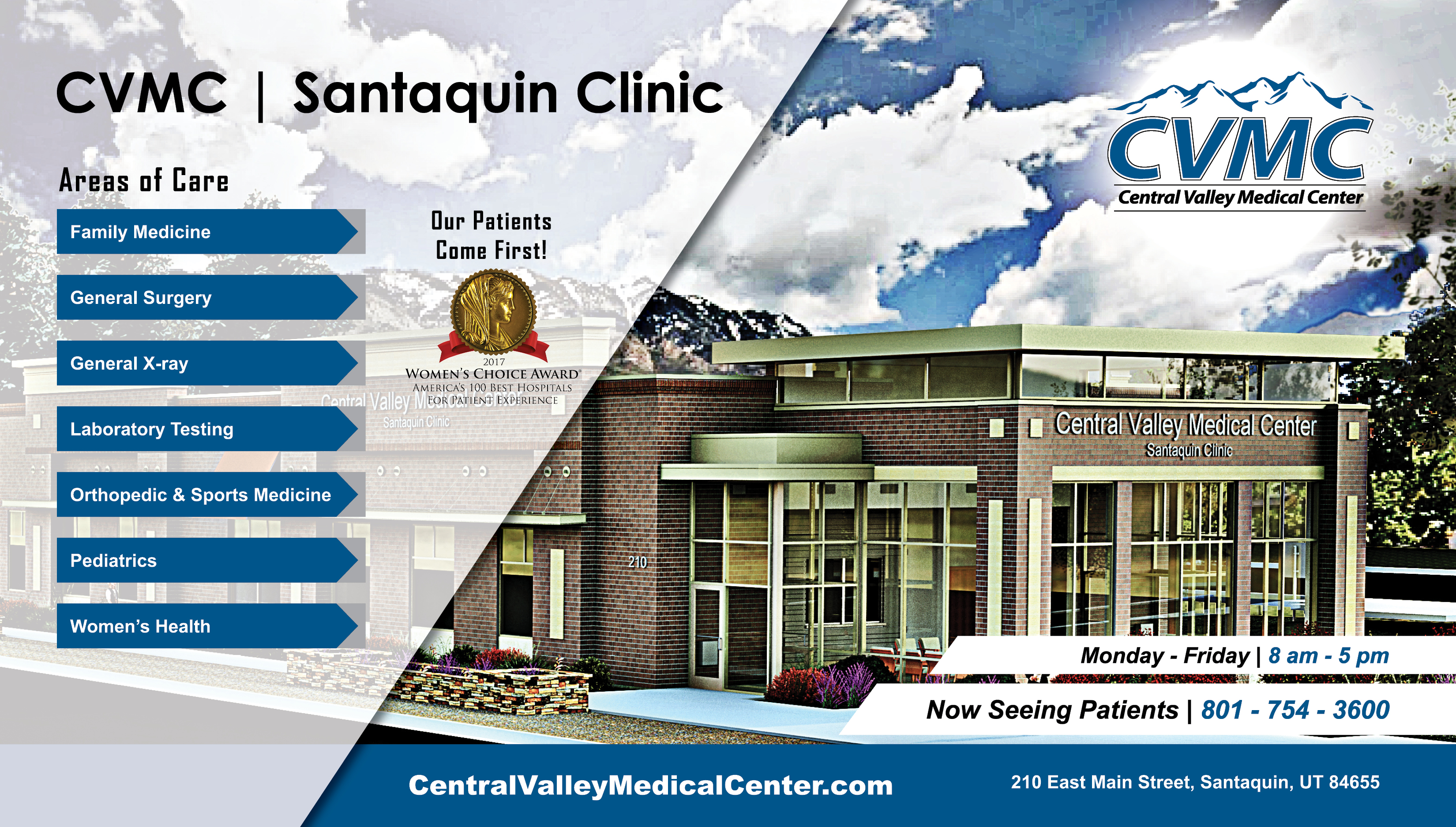new cvmc santaquin clinic building construction completed