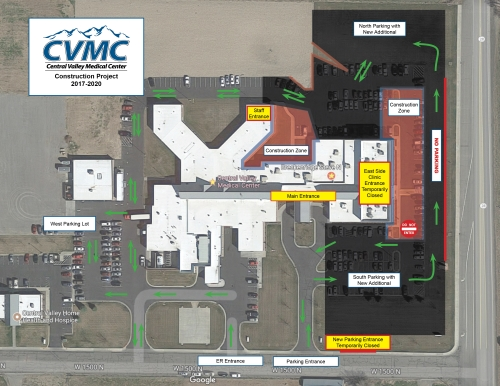 construction is coming to central valley medical center this september